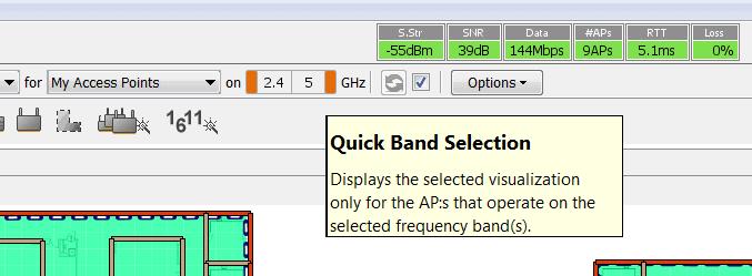 band select