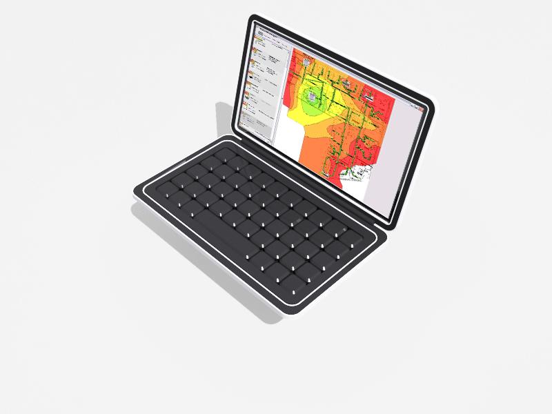 HeatMapper runs on laptops and tablets