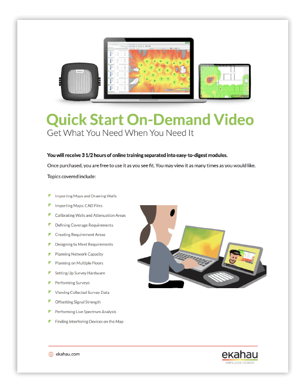 Quick Start On-Demand Video training course overview